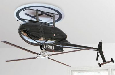 Raffaele Iannello Creative Studio helicopter ceiling fan