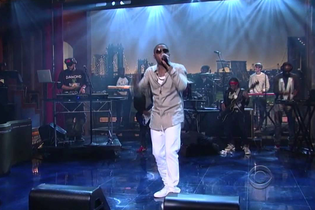 Nas on David Letterman Show