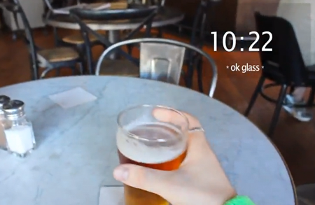 One day with Google Glass