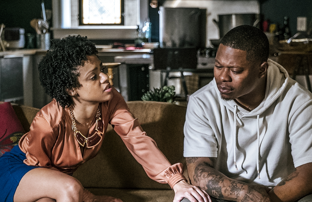 The Chi: Tiffany Boone, Jason Mitchell