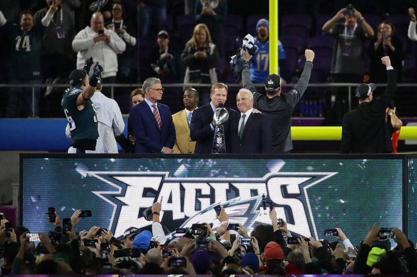 Eagles win Super Bowl 52