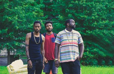 Lakeith Stanfield, Donald Glover, Brian Tyree Henry