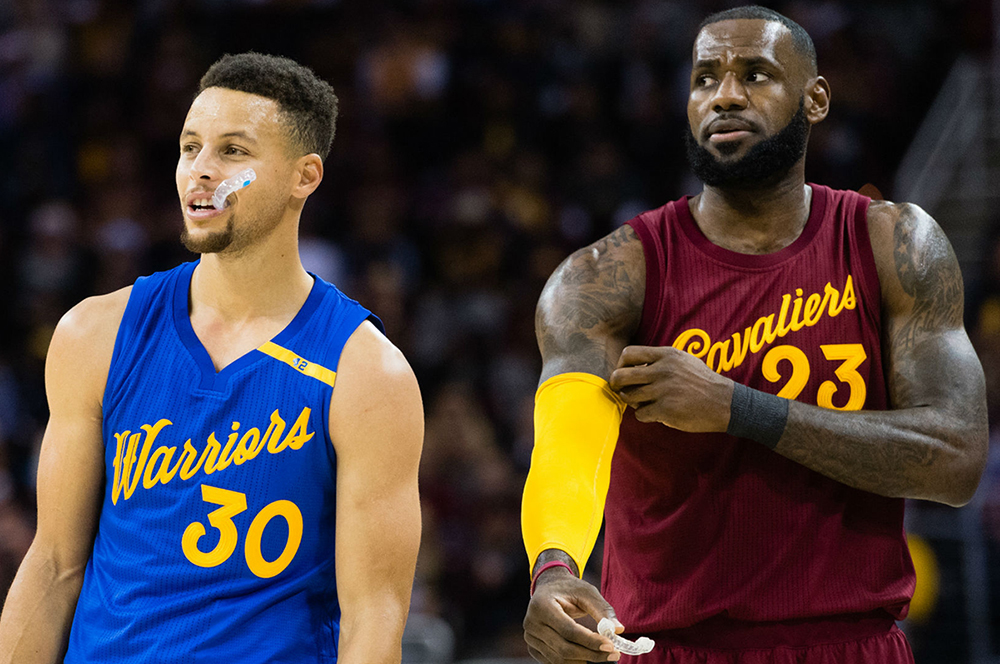 Steph Curry, Lebron James