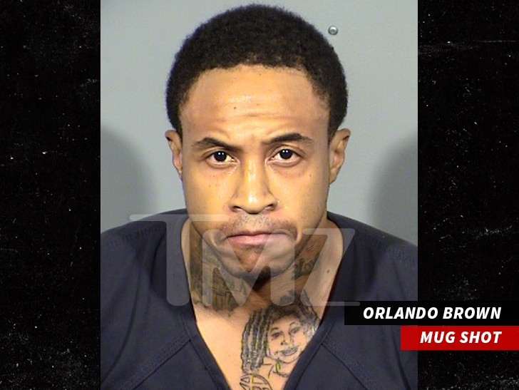 Orlando Brown mugshot