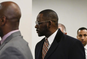 R. Kelly attends court hearing
