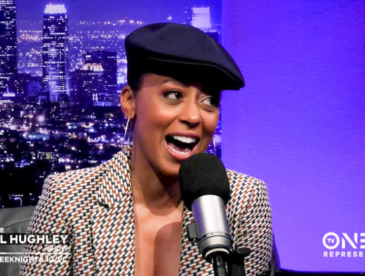 Essence Atkins on The DL Hughley Show