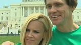 Jim Carrey, Jenny McCarthy tie a non-traditional knot