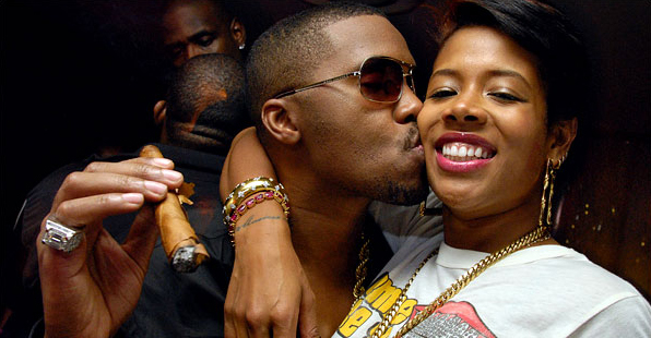 Nas and Kelis during better times
