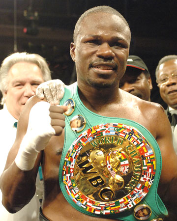 Former WBC World Champion Vernon Forrest