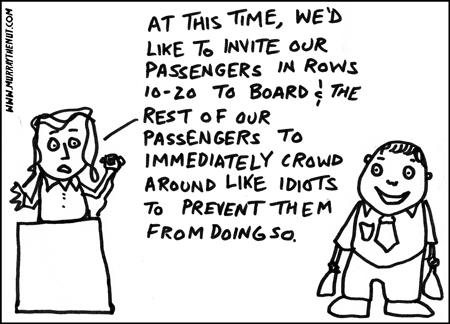 Murray the Nut: Plane Boarding