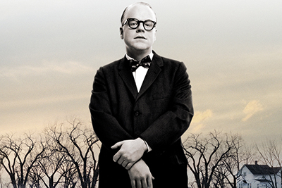 Philip Seymour Hoffman as Capote