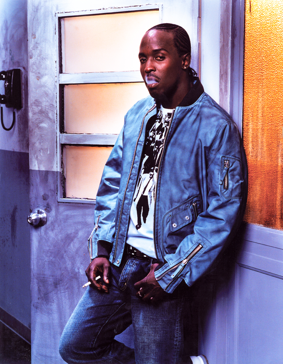 Michael K. Williams, Omar Little on The Wire.