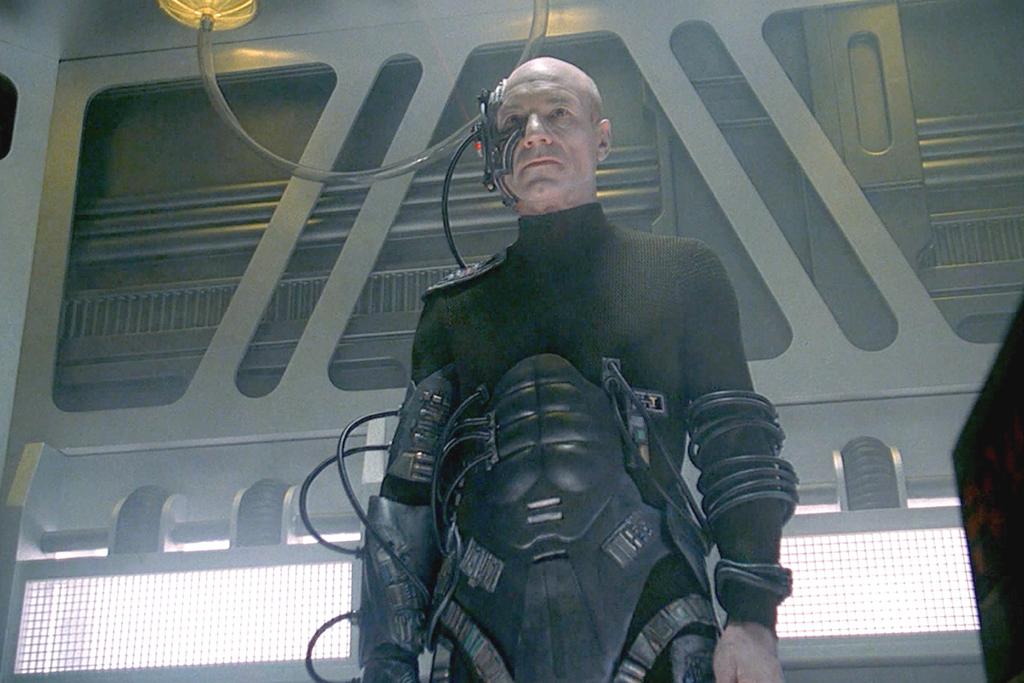 Captain Picard Locutus of Borg