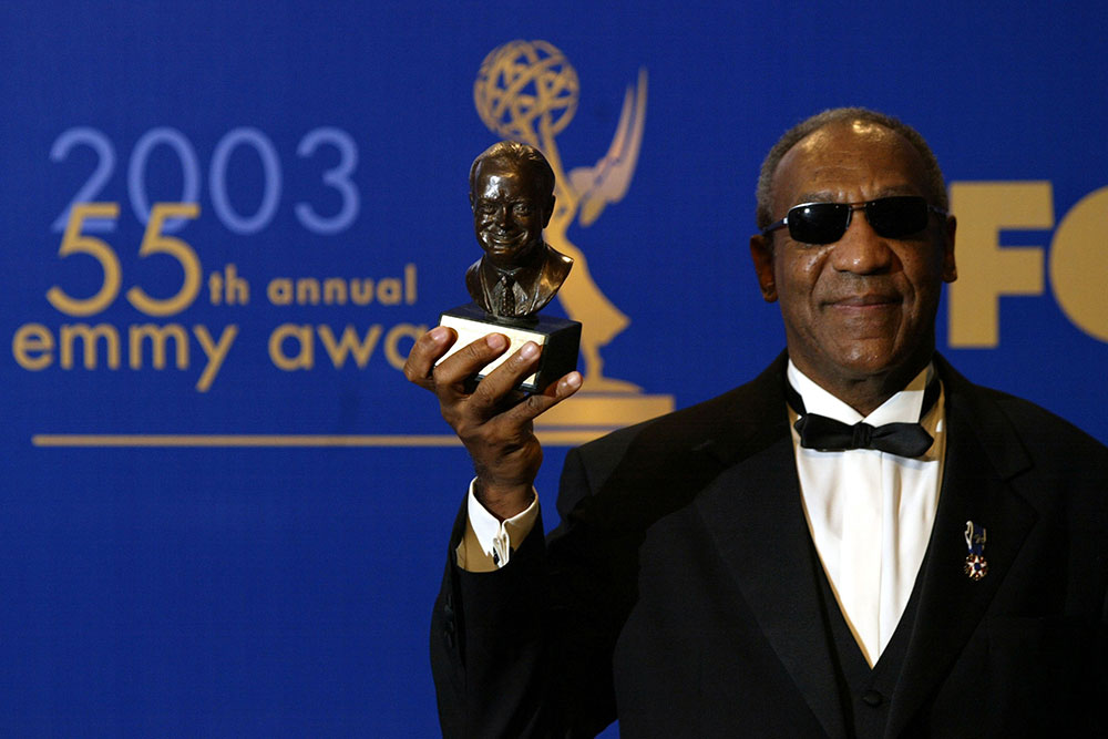 Bill Cosby at the 2003 Emmy Awards
