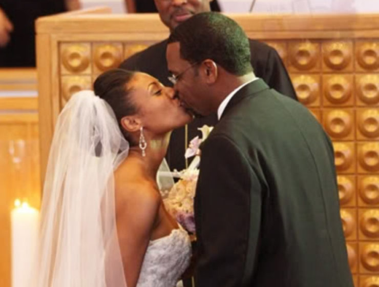 Luther Campbell, Kristin Thompson wedding