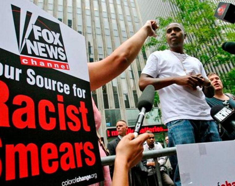 Nas at Fox News HQ