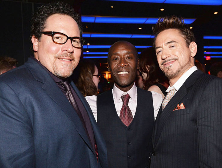 Favreau, Cheadle, Downey Jr.