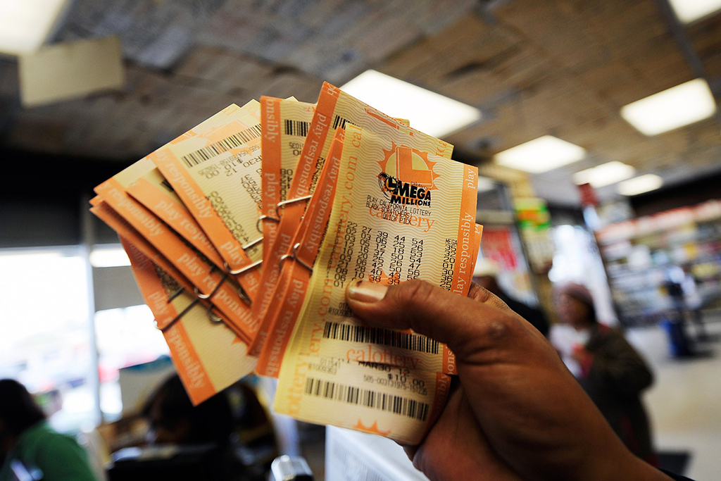 Mega Millions lotto tickets