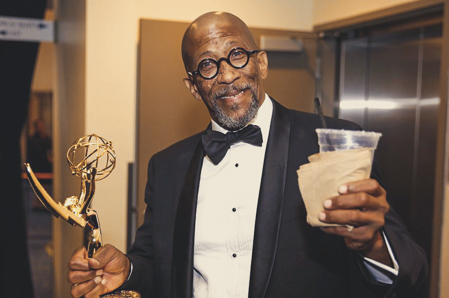 Reg E. Cathey at Emmys