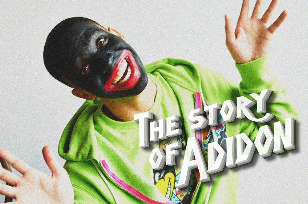 Drake in black-face