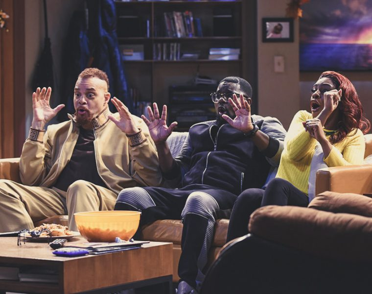 Sinbad, Lil Rel Howery, and Jess Hilarious on Fox's Rel