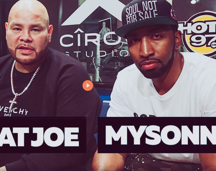 Fat Joe + Mysonne freestyle
