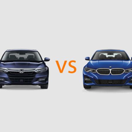 Honda Accord vs BMW 3 Series
