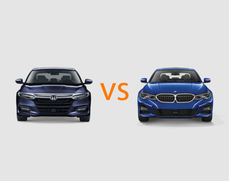 Honda Accord vs BMW 3 Series