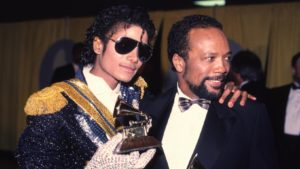 Michael Jackson with Qunicy Jones