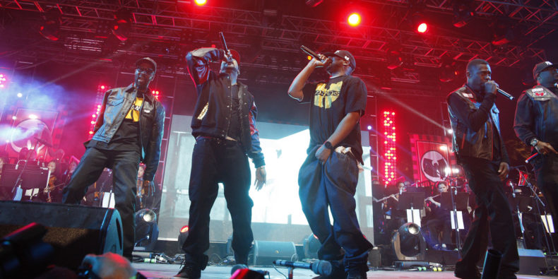 Wu Tang Clan in concert