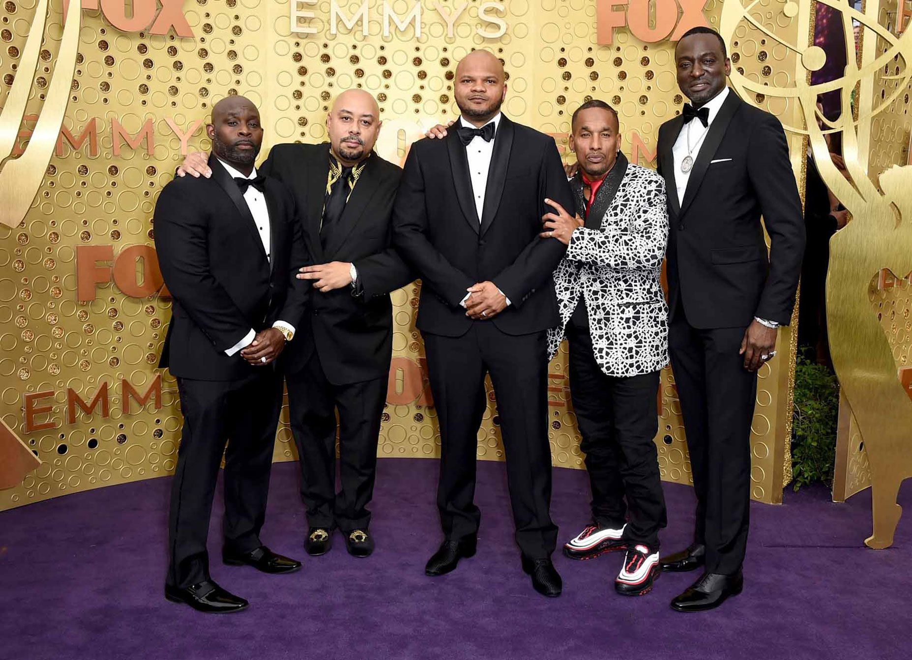 Central Park 5 at the 2019 Emmys
