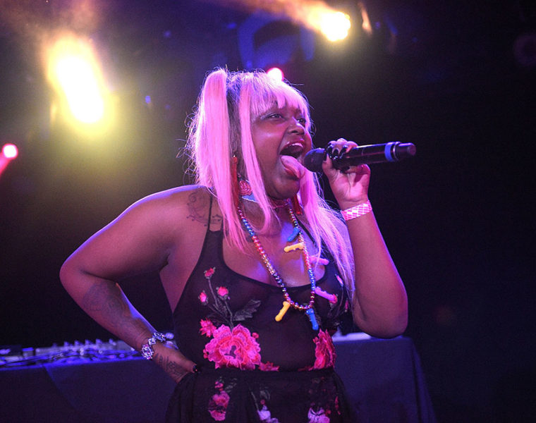 CupcakKe on stage
