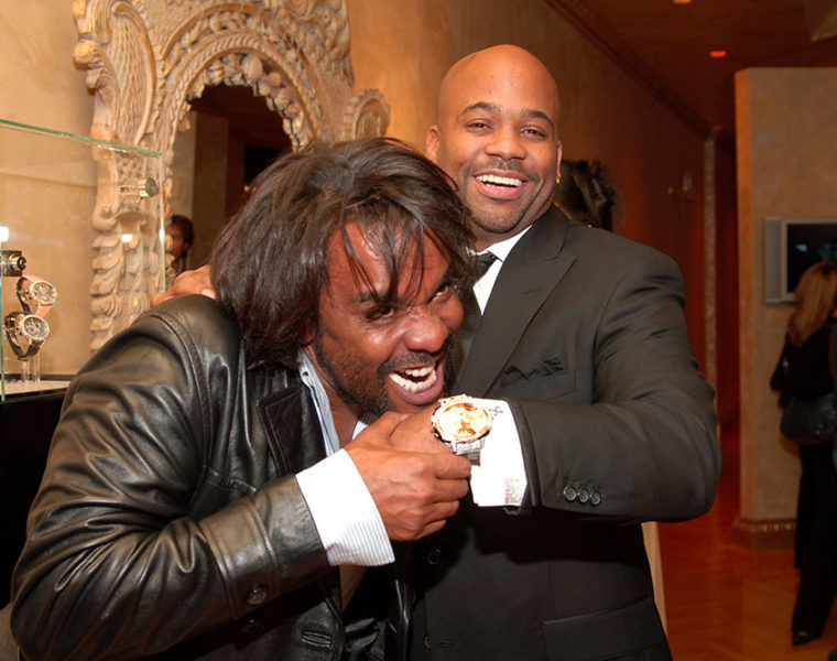 Dame Dash with Lee Daniels