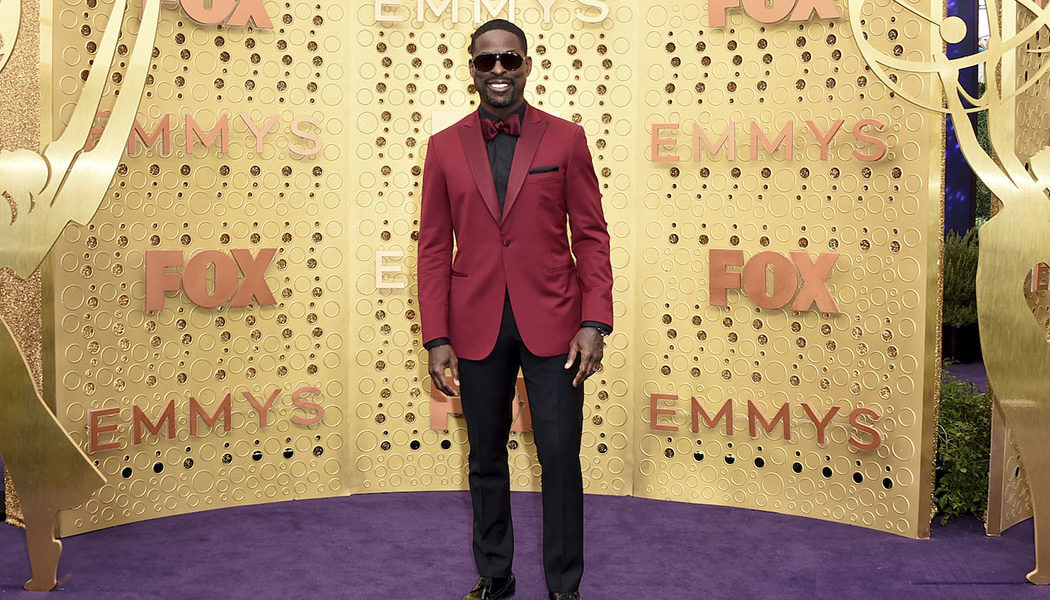 Sterling K. Brown at the Emmys