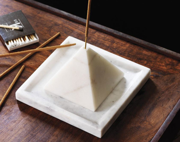 Saic Pyramid Incense Stick Holder