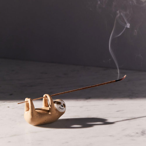 Sloth Incense Holder