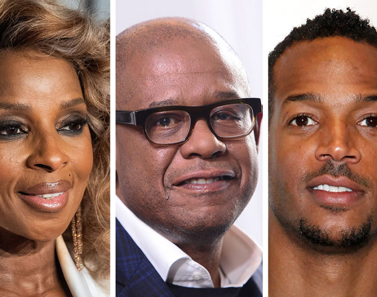 Mary J. Blige, Forest Whitaker, Marlon Waynes
