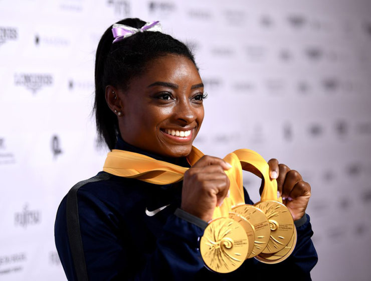 Simone Biles Gold at FIG Gymnastics World Championships