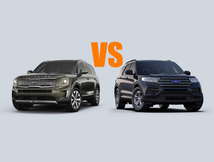 2020 Kia Telluride vs. 2020 Ford Explorer