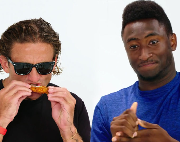 Marques Brownlee and Casey Neistat Play Truth or Dab