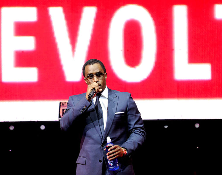 Diddy at Revolt