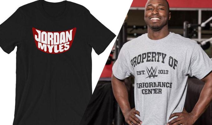 Jordan Myles blackface shirt