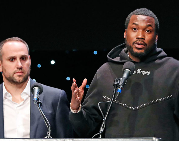 Michael Rubin with Meek Mill