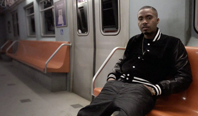 Nas on subway