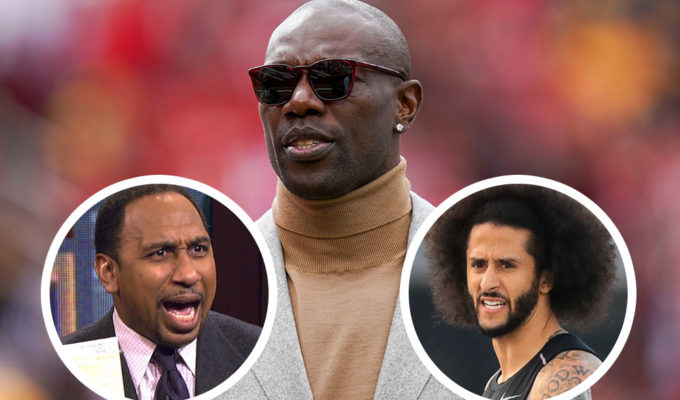 Terrell Owens, Stephen A Smith, Colin Kaepernick