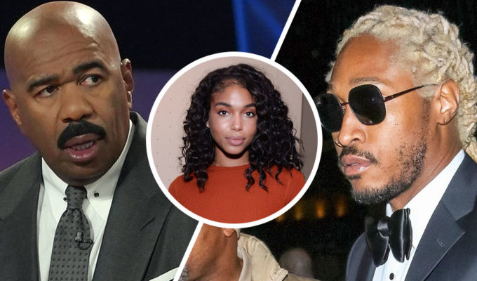 Steve Harvey, Lori Harvey, Future