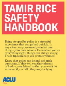 Tamir Rice Safety Handbook