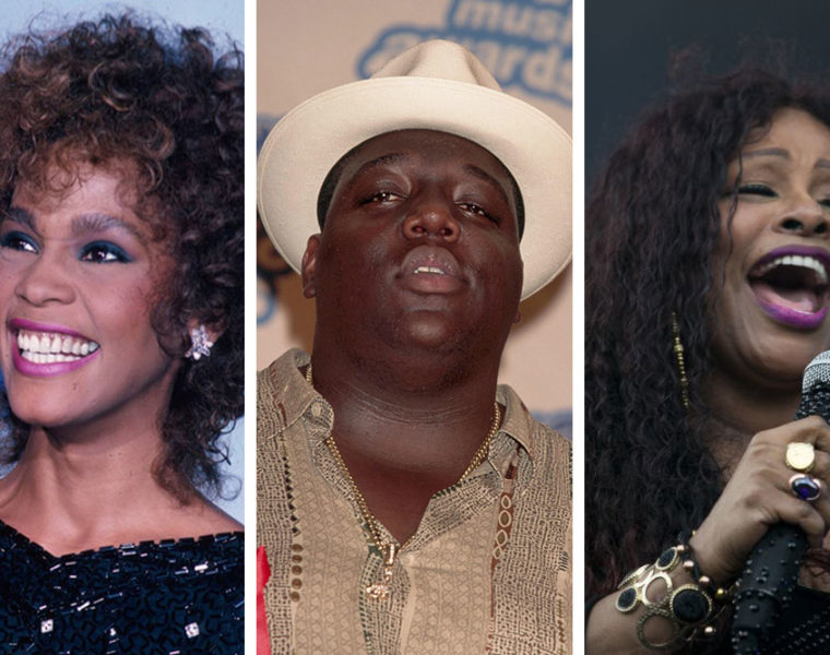 Whitney Houston, Biggie Smalls, Chaka Khan