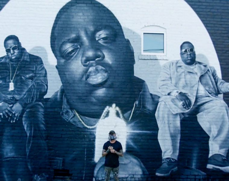 Biggie Smalls mural