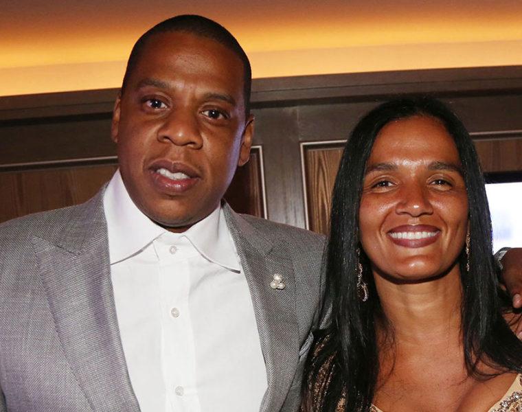Jay-Z with Desiree Perez